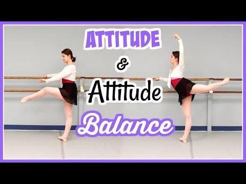 Ballet Technique - Attitude and Attitude Balance | Kathryn Morgan