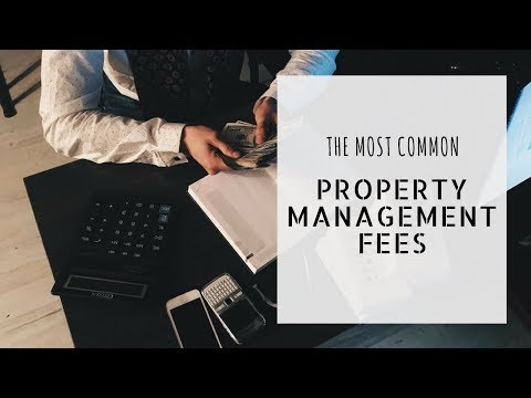 Burlingame Property Management Fees: What Are the Most Common?