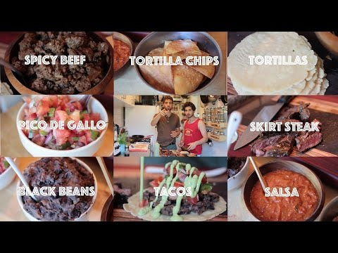 Beginners Guide to cooking Mexican Food