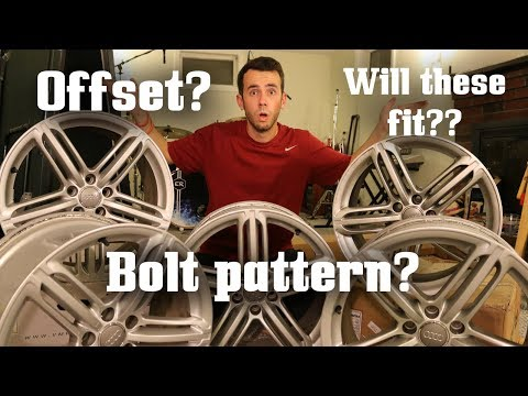 Let's talk about Wheel Fitment! (Bolt Pattern, Offset, etc)