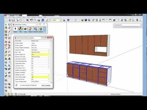 SketchUp plugin change attributes multiple Components