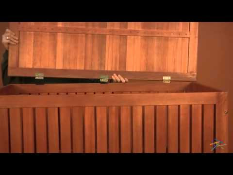 Assembly Video Hyde Park 4-ft. Outdoor Storage Deck Box