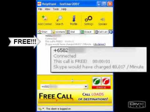 Free Calls Worldwide From PC FREE Call To Phone And Mobile Video