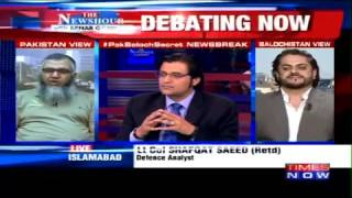 Arnab Goswami Ripped off by Pakistani Guest