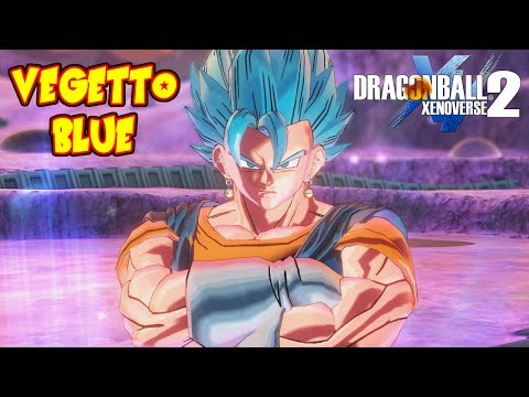 DRAGON BALL XENOVERSE 2 : VEGETTO SUPER SAIYAJIN BLUE ! COMBOS BATALLA ONLINE EPICIDAD   RAFYTA