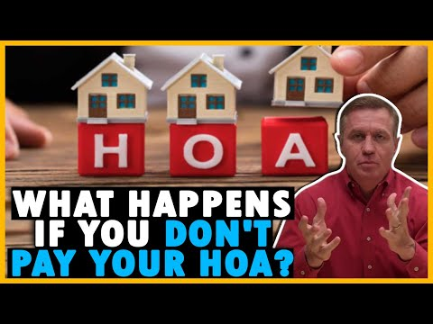 What happens if you don't pay your HOA fees or fines