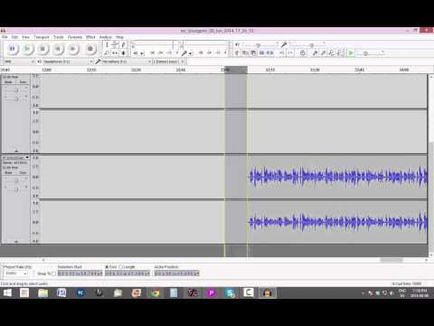 Tutorial Mixing Multiple Tracks Into One Using Audacity