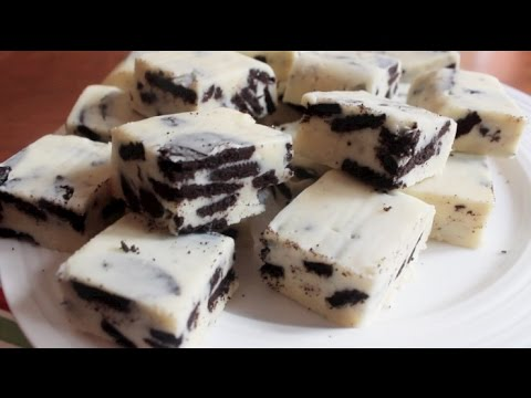 How to make Cookies and Cream Fudge | 3 ingredients