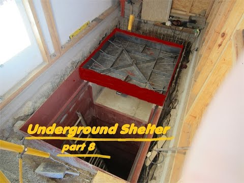 UNDERGROUND shelter, How to build an underground Bunker!!! #8