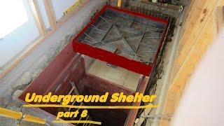 UNDERGROUND shelter, How to build an underground Bunker!!! #8