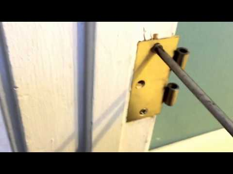 How i fixed a stripped out wood doorframe.