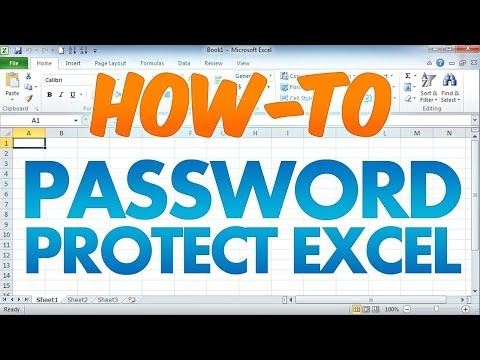 Password Protect an Excel Workbook Document
