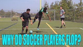 Why Do Fútbol (Soccer) Players Flop?   David Lopez