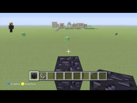 Minecraft: How to make a giant Nether portal- Minecraft XBox 360