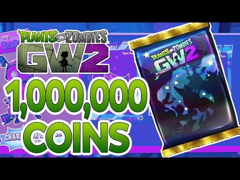 Plants Vs Zombies Garden Warfare 2: ONE MILLION Coins Phenomenal Character Pack Opening