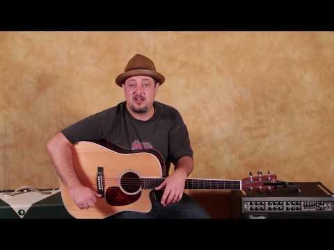 Beginner Acoustic Reggae Guitar Lesson - How to Play a Reggae Guitar Rhythm