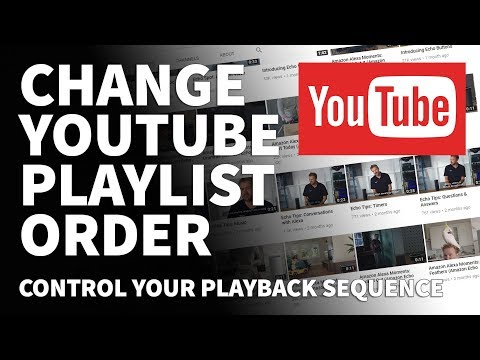 How to Change YouTube Playlist Order Sequence- How to Reorder Videos in YouTube Playlist