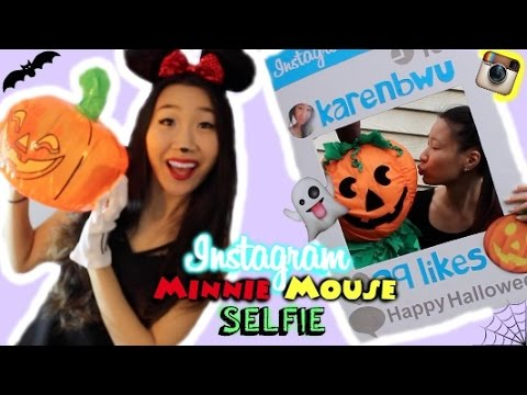DIY HALLOWEEN COSTUMES: Instagram + Minnie Mouse! ♡
