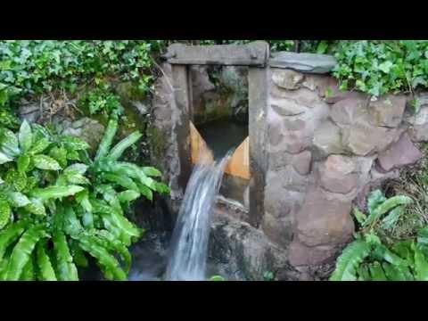 Building a water wheel Ep. 1 - Sluice gate