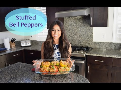 Stuff Bell Peppers + Mini Meal Prep
