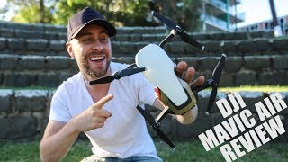 DJI MAVIC AIR REVIEW - MY NEW FAVORITE DRONE!