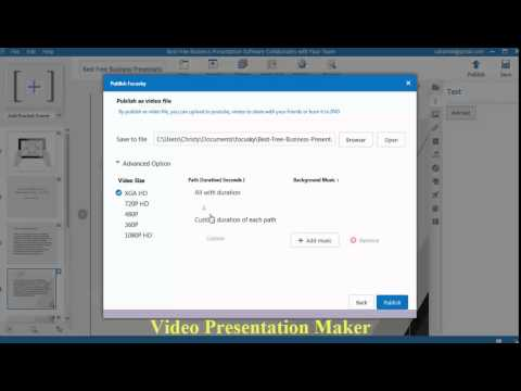 Create SEO Friendly Video Presentations for Free with Focusky