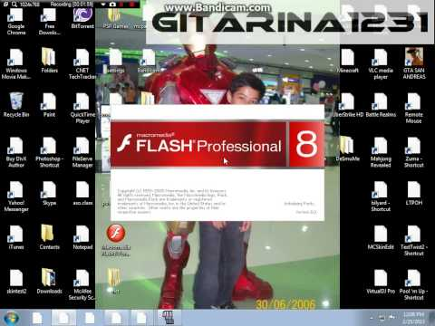 How to get Macromedia flash 8 for free