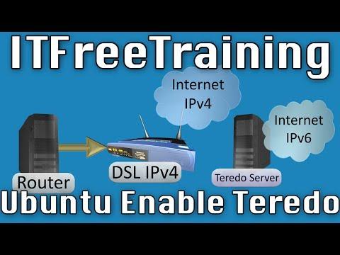 Enabling Teredo on Ubuntu
