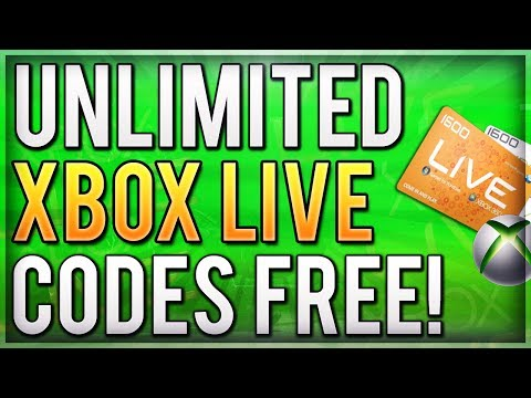 New UNLIMITED XBOX LIVE Method! How to Get Unlimited Gold Week Trial Codes! (Free Xbox Live Gold)