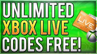 New Unlimited Xbox Live Method How To Get Unlimited Gold Week Trial C