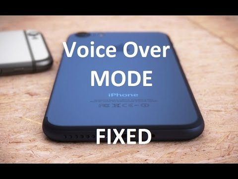 How to disable Voice Over Mode | Iphone | Ipad | TechServant
