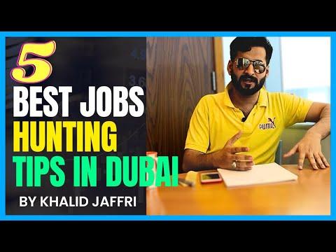 5 BEST TIPS TO HUNTING JOBS IN DUBAI | 100% MUST GOT JOBS UAE | HINDI URDU BEST HELPING VIDEO