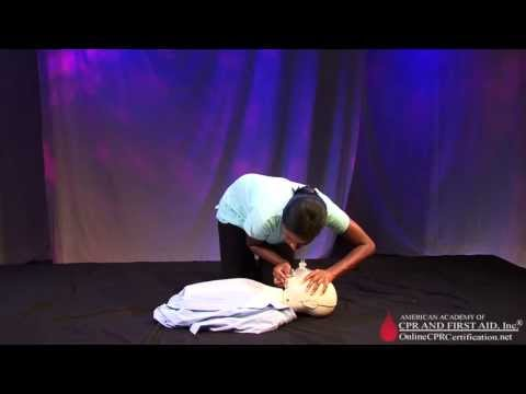 CPR Training Video - How to Perform Adult and Child Rescue Breathing