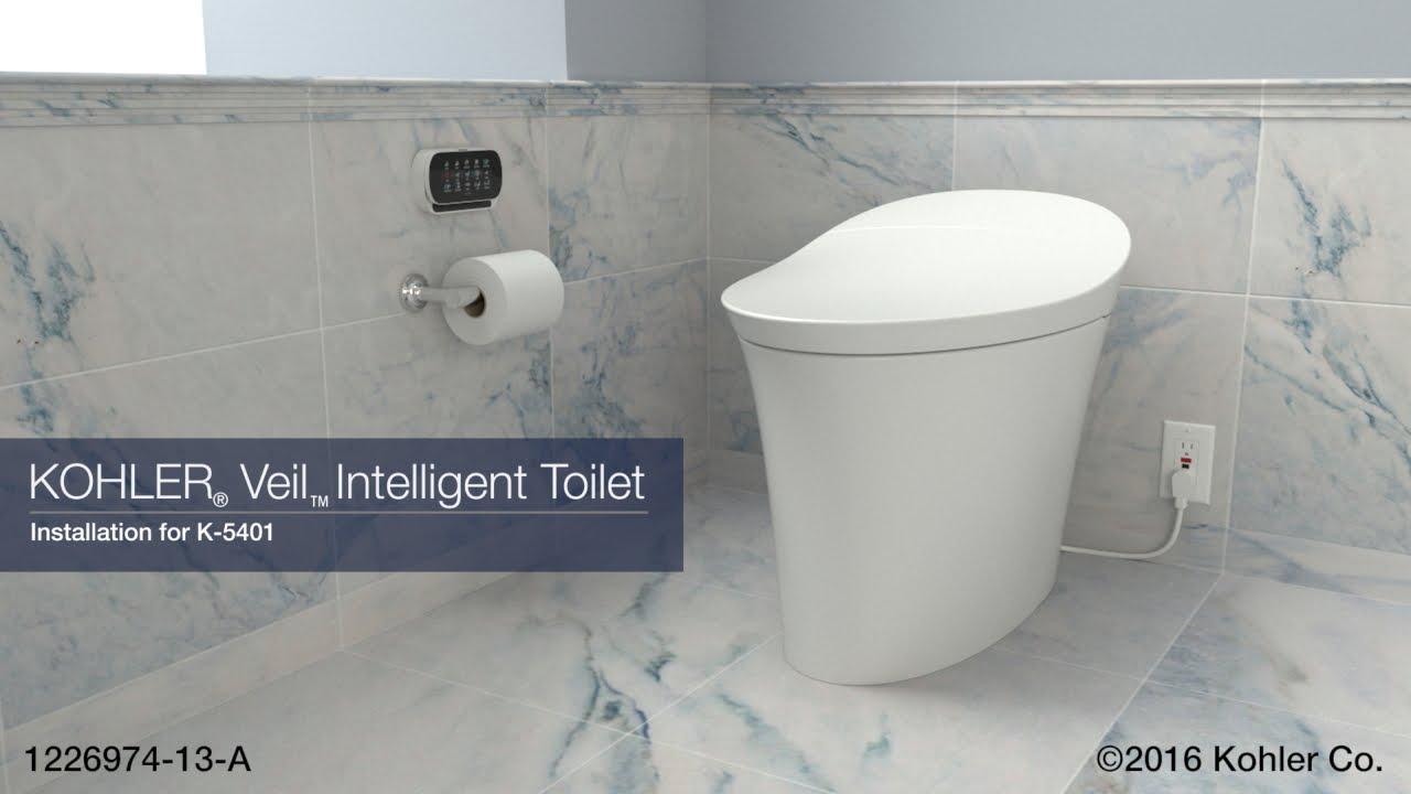 Installation - Veil Intelligent Toilet