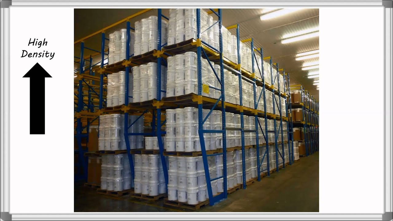 Drive-in and Drive-through Rack   Total Warehouse Tutorials with REB Storage Systems