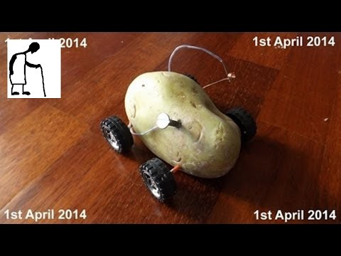 Potato Car 1st day of the 4th month - reveal