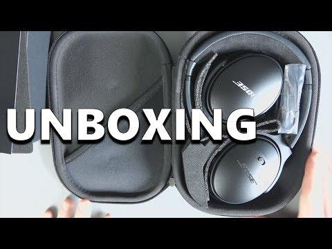 Bose QuietComfort 35 II - Unboxing