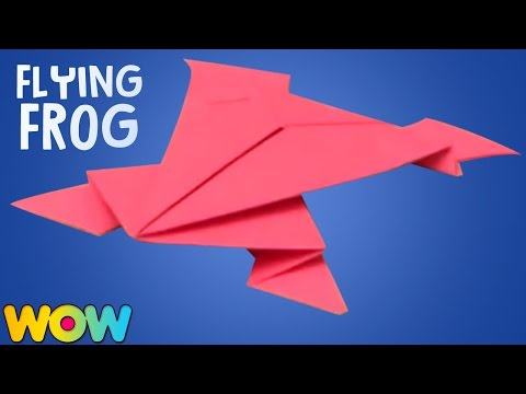How to Make Action Origami Jumping Frogs | Learn origami Paper Jumping Frog