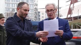 Обращения участников митинга 23/02/2020 г.Страсбург
