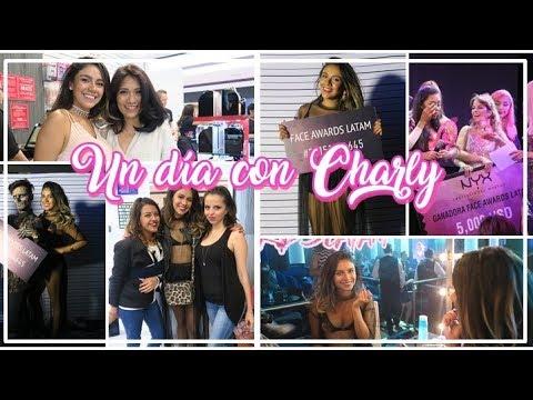 NYX Face awards LATAM Bellisima Forum Buenavista | Un día conn Charly | Charly Makeup
