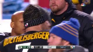 Chris Boswell Game-Winning 53-Yard Field Goal! | Packers vs. Steelers | NFL