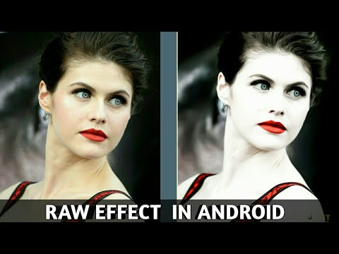 Raw Editing in Android  || Part 2 || Rahul creations