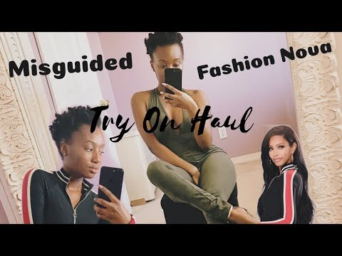 AFFORDABLE TRY ON HAUL | Fashion Nova Misguided Puma & More (Not Sponsored)