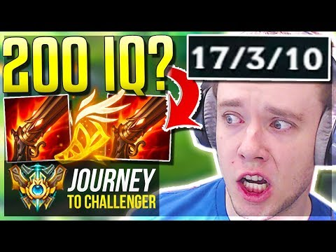 WTF? HOW DID THIS BUILD ACTUALLY WORK?? 200 IQ - Journey To Challenger | League of Legends