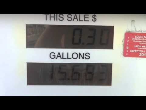 20 gallons of GAS for 38 Cent