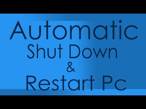 Windows Tricks - Automatic Shut Down , Restart Or Sleep Computer