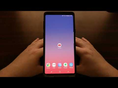 YouTube | Activating Dark Mode on Android