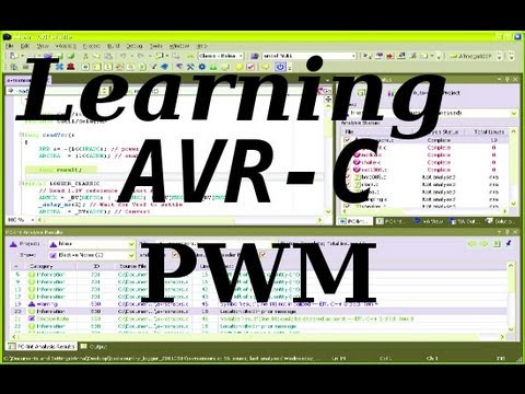 Learning AVR-C Episode 7: PWM