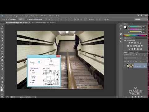 Hướng dẫn tạo hiệu ứng xoáy bằng Photoshop.