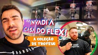 INVADI A CASA DO FLEX, MOSTRAMOS A COLEÇÃO DE TROFÉUS DELE!